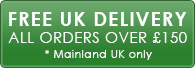 Free Mainland UK Delivery on orders over £150