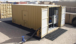 Containerised Vacuum and Collection System
